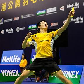 Hong Kong Badminton Open 2014 Men's Singles Takuma Ueda 2:1 Wei Feng Chong