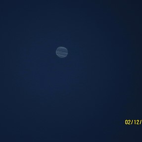 Jupiter today morning with canon sx50