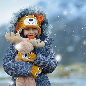 Snowy Beaver with d810