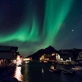 Night sky and auroa - pushing the K01 sensor to the limit