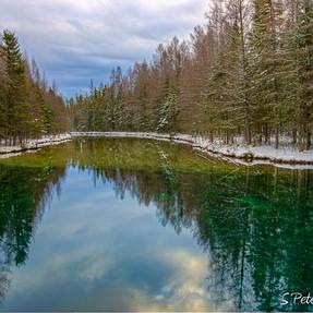 Reflections at Big Springs Kitch-iti-kipi