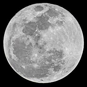 Last Night's Full Moon - Tamron 150-600 & Nikon D750