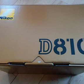 Nikon D810 body only - brand new in box - US Version - 0 shutter count