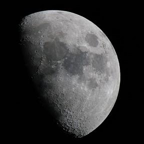 Manfrotto Gimble mount, Tamron 150-600,  and Moon shot
