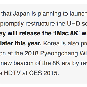 iMac 8K: 2015 announcement? Fact or fiction?