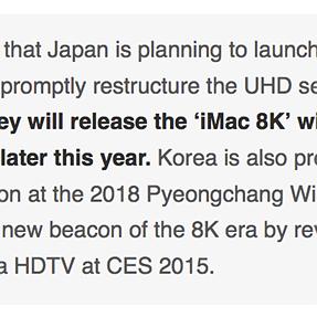 iMac 8K: 2015 announcement? Fact or fiction?