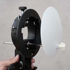 Godox AD360 DIY diffuser/gel holder