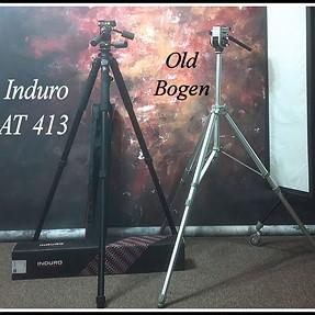 My new Induro AT413 tripod