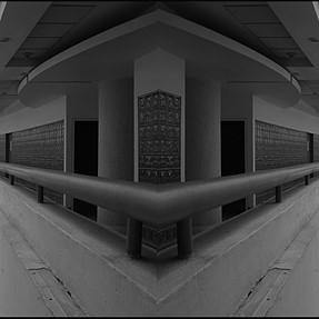 Architecture at panoramic