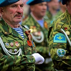 Russian Parachute Ranger Veterans. Df and 70-200 2.8GII