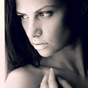 Russian model Galina