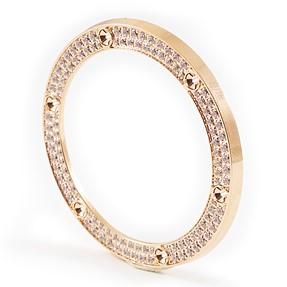 How do you make zircons/diamonds shine?
