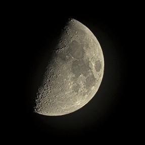 Moon detail ...handheld