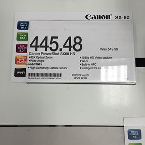 Canon sx60 hs price reduced, and my first purchase