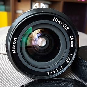 FS - Nikkor 24 f2.8 AIS lens