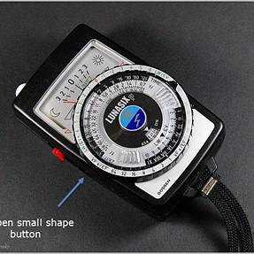 How this Gossen Lunasix F lightmeter works with Canon Speedlight 430EX ?