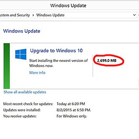 """How do I get """"Upgrade to Windows 10"""" out of Windows Update dialog?"""