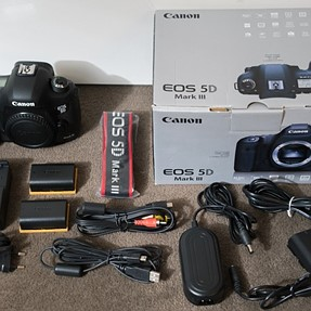FS: Canon 5D Mark III (excellent condition)