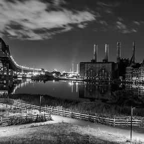 Power Plant in B&W