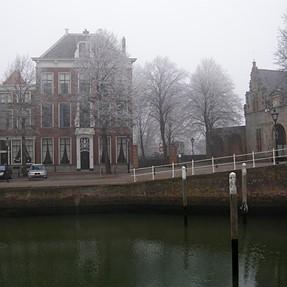 Scene Zierikzee.The Netherlands.
