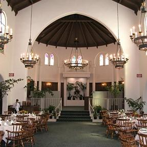 Lighting for a wedding ceremony