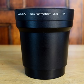 Panasonic DMW-LT55mm 1.7X Telephoto Conversion Lens with adapter