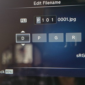 E-M1 Help setting filename
