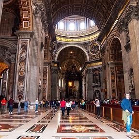 """Rome: """"Basilica di San Pietro """""""