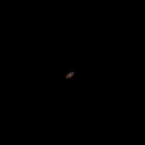 Saturn from my deck with SX50