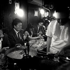 Small Restaurant Moods at Omoide Yokocho, Shinjuku - Tokyo