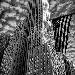 Manhattan in B&W