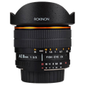 Rokinon 8mm f/3.5 Aspherical Fisheye