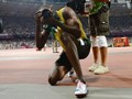 Usain Bolt captures the moment of his double-double Olympic triumph