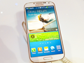 Hands-on with the Samsung Galaxy S4 smartphone