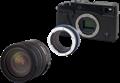 Novoflex creates adapters for Fujifilm X-Pro1