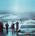 Tracking Hurricane Sandy on Instagram