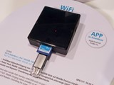 Hama shows Wi-Fi card reader for mobile devices