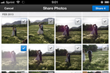 Dropbox app update allows multiple photo sharing