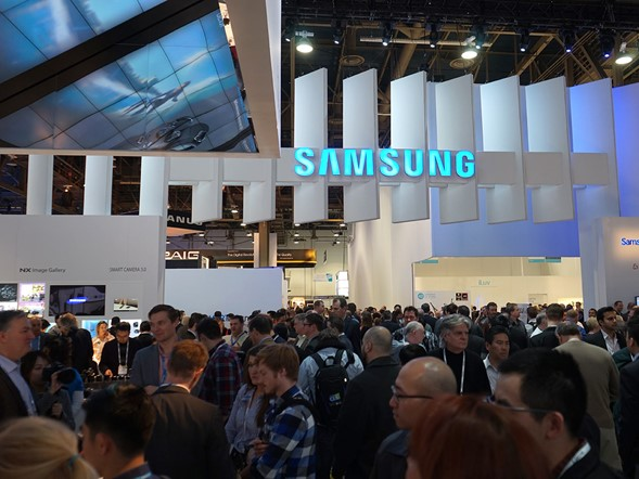 CES 2014: Samsung Stand Report