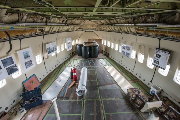 In pictures: Restoration of Boeing's first jumbo jet
