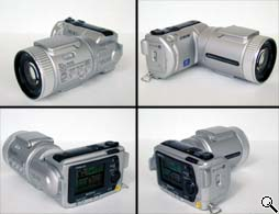 Sony DSC-F505 All Angle View (click for larger image)