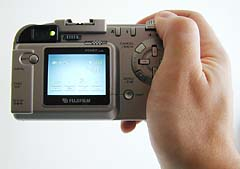 Fuji MX2900: In hand