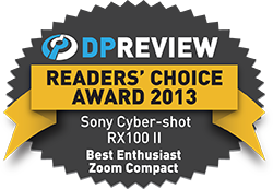 2013 Readers' Choice: Best Enthusiast Zoom Compact